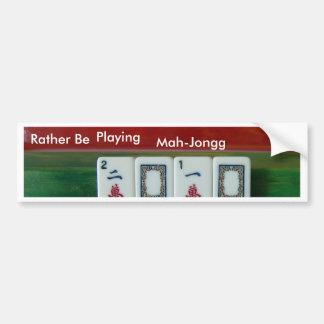 Mah-Jongg 2010 Bumper Sticker