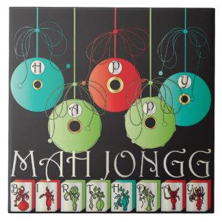 Mah Jongg Bettors Birthday Tile
