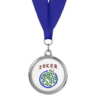 Mah Jongg Blue Ribbon Medal