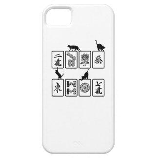 Mah-jongg cat mahjong cat iPhone SE/5/5s case