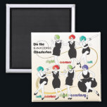 """Mah Jongg Charleston2 Magnet<br><div class=""""desc"""">A selection of gifts for your Mah Jongg friends.</div>"""