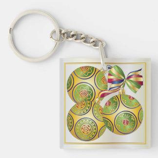 Mah Jongg Christmas Ornaments/Bettors Keychain