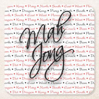 Mah Jongg Coasters
