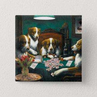 Mah Jongg Dogs Pin