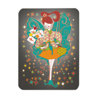 Mah Jongg Fairy Magnet