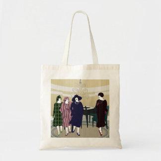 Mah Jongg Flappers Room Bag