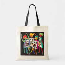 Mah Jongg Flower Dance Tote Bag