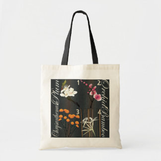 Mah Jongg Flowers Bag