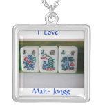 Mah-Jongg Flowers Jewelry