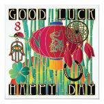 Mah Jongg Good Luck Happy Day Card