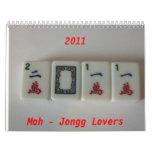 Mah-Jongg lovers 2011 Calendar