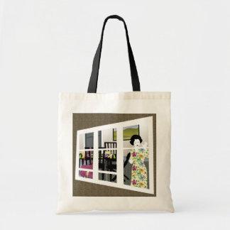 Mah Jongg Mahj Night Window Bag
