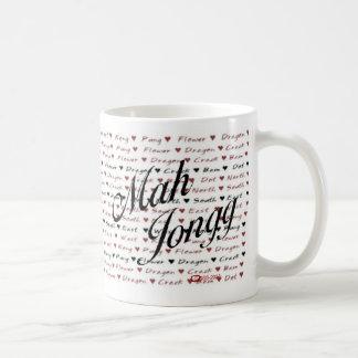 mah jongg mug - Customized
