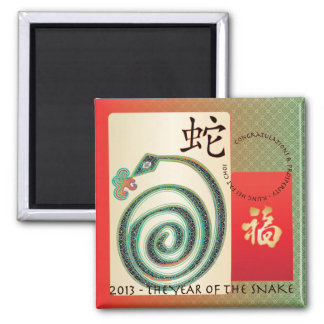 Mah Jongg New Year 2013 Red Envelope Magnet