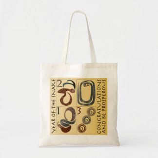 Mah Jongg New Year 2013 Snake Tiles Bag