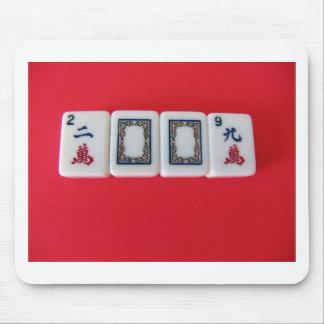 Mah -Jongg New Year Mouse Pad