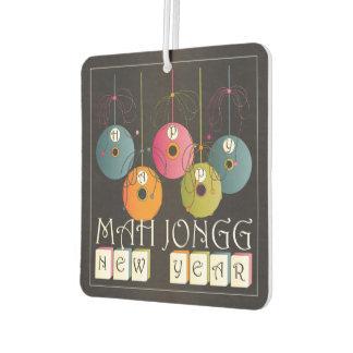Mah Jongg New Years Air Freshener