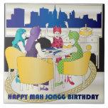 Mah Jongg New York Birthday Tile