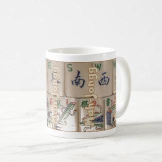 Mah-Jongg on tiles (set no. 1) Coffee Mug