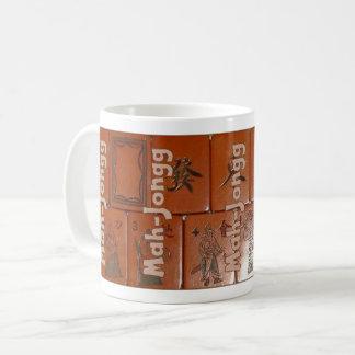 Mah-Jongg on tiles (set no. 2) Coffee Mug