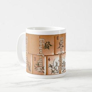 Mah-Jongg on tiles (set no. 4) Coffee Mug
