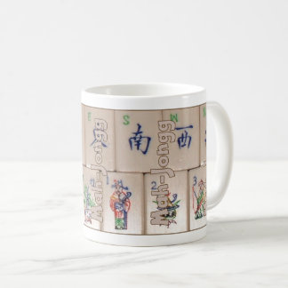 Mah-Jongg on tiles (set no. 5) Coffee Mug