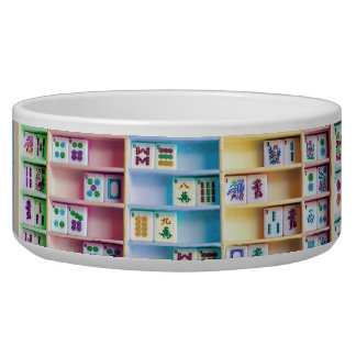 Mah Jongg Pet Bowl
