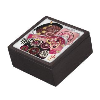 Mah Jongg Purses Red Gift Box