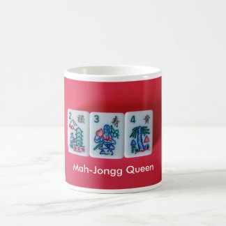 Mah-Jongg Queen Mugs