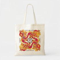 Mah Jongg Red Dragon Bag