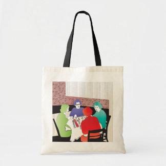 Mah Jongg Retro2 Tote Bags