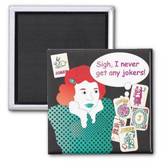 Mah Jongg Sayings Jokers2 Refrigerator Magnet