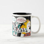 """Mah Jongg Sayings Jokers, Flowers, Winds MUG<br><div class=""""desc"""">Do you recognize these sayings often heard around the Mah Jongg table? Perfect gift for yourself and others.</div>"""