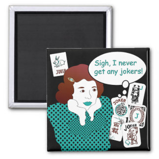 Mah Jongg Sayings Jokers Magnet