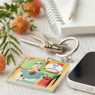 Mah Jongg Sayings Kvetching Keychain