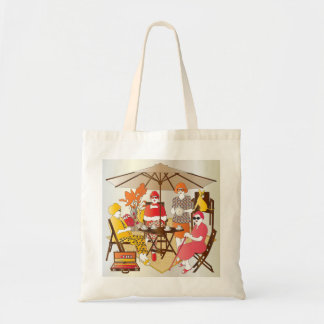Mah Jongg Tea Party Tote Bag