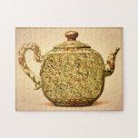 """Mah Jongg Tea Pot Puzzle<br><div class=""""desc"""">Clearly a challenge.</div>"""