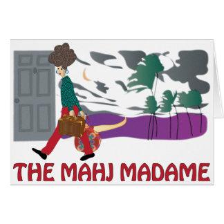 Mah Jongg The Mahj Madame Card