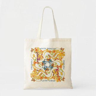 Mah Jongg White Dragon Bag