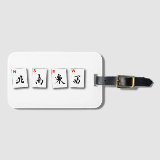 Mah Jongg Winds Luggage Tag