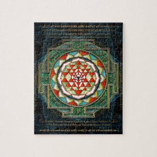 Maha Lakshmi Mantra & Shri Yantra Jigsaw Puzzle