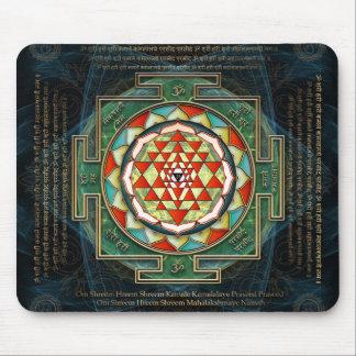 Maha Lakshmi Mantra & Shri Yantra Mouse Pad