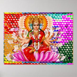 Maha Laxmi : Goddess of Wealth Poster