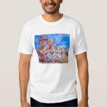 Mahabharat - Lord Krishna & Arjun T Shirt