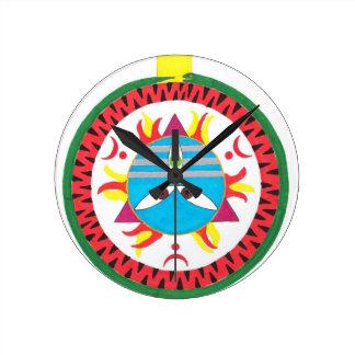 Mahadeva Round Wall Clocks