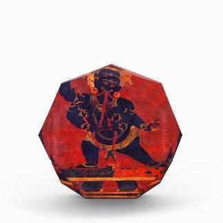 Mahakala, 12th century acrylic award