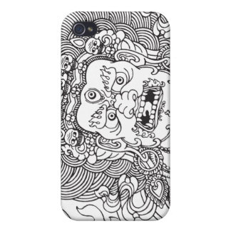 Mahakala (black) iPhone 4 cases