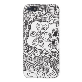 Mahakala (black) iPhone 5 covers
