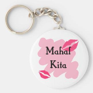 Mahal Kita - Filipino I love you Keychain