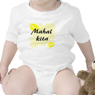 Mahal Kita - filipino te amo Camisetas
